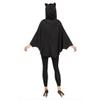 Afbeelding van Halloween poncho vleermuis