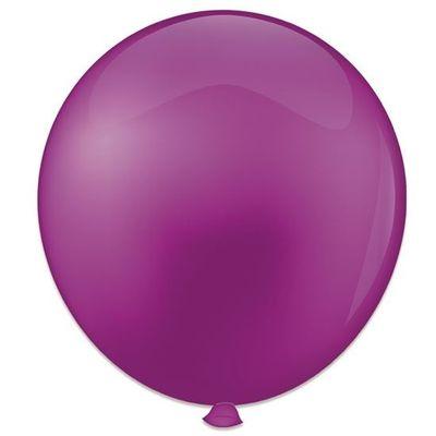 Topballon violet (91cm) 6st