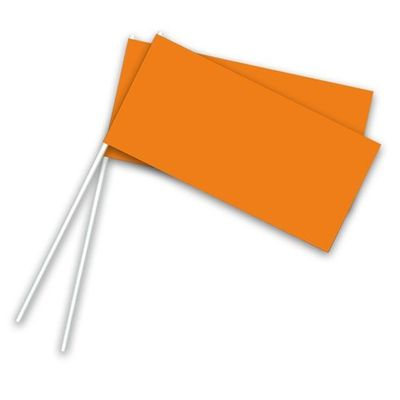 Zwaaivlaggetjes oranje