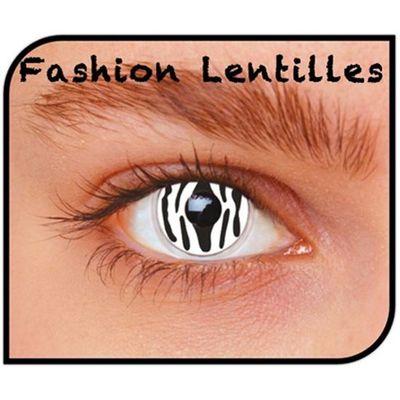 Foto van Kleurlenzen Zebra – maandlenzen