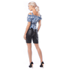 Afbeelding van Dames lederhose kort Charlotte