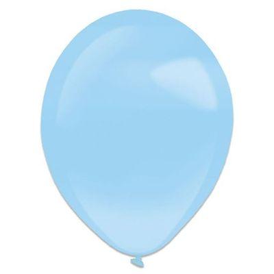 Ballonnen pastel blue pearl (28cm) 50st
