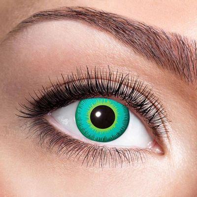 Kleurlenzen Magic green eye – maandlenzen