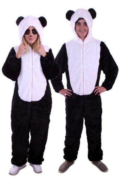 Panda kostuum unisex