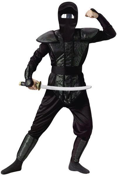 Ninja kostuum heren one size