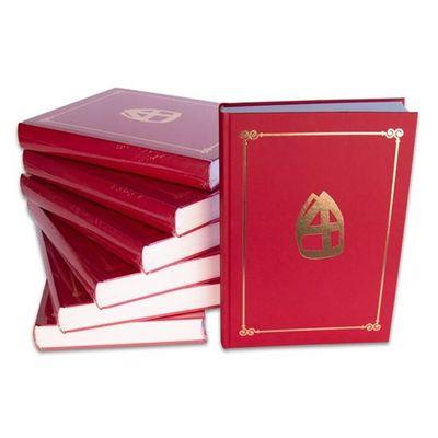 Sinterklaasboek met mijter