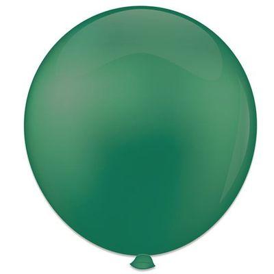 Topballon donkergroen (91cm) 6st