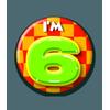 Afbeelding van Button 6 jaar