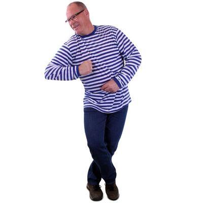 Foto van Blauw wit gestreepte trui