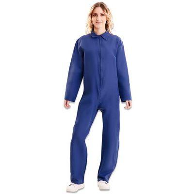 Blauwe overall