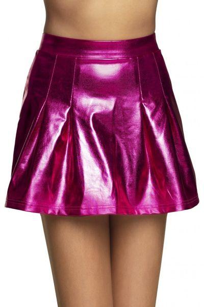 Minirok showgirl roze