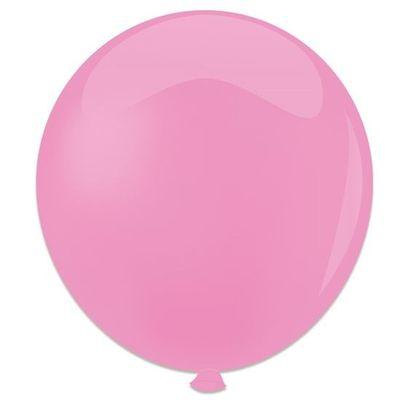 Topballon roze (91cm) 6st