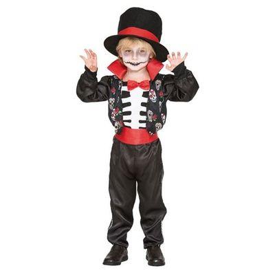 Foto van Dag van de Doden Kostuum - kind