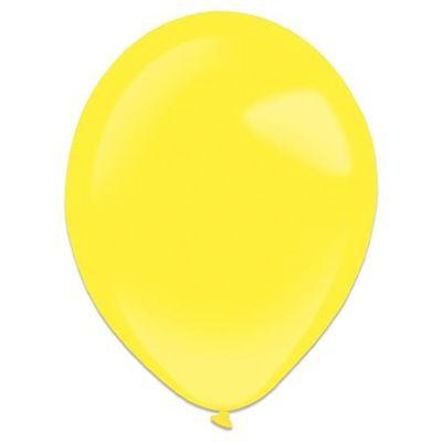 Ballonnen yellow sun (35cm) 50st