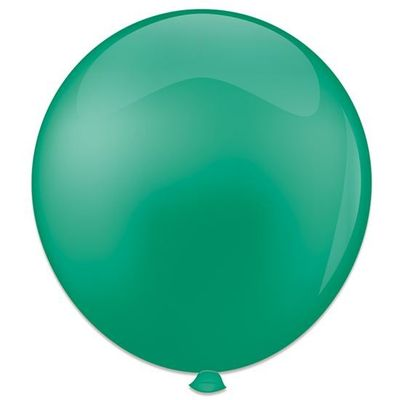 Topballon jadegroen 91CM (6 stuks)