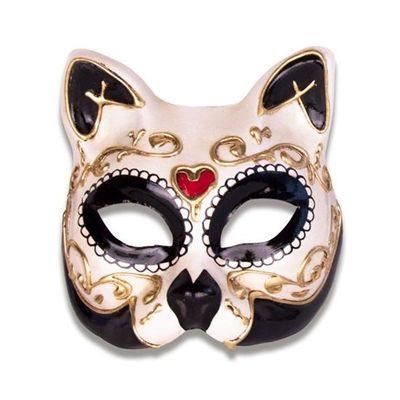 Venetiaans masker kat - Luxe