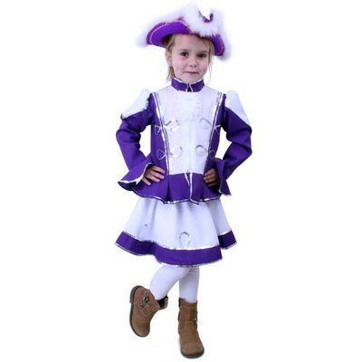 Foto van Majorette kostuum meisje