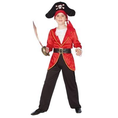Kapitein haak kostuum jongen