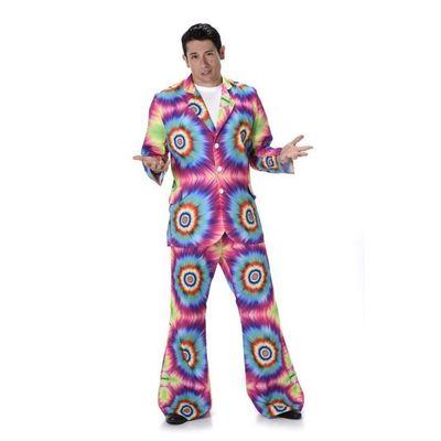 Foto van Hippie tie-dye kostuum
