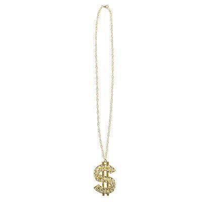 Dollar ketting diamanten