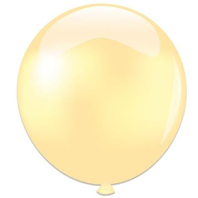 Foto van Topballon parel ivoor (91cm)