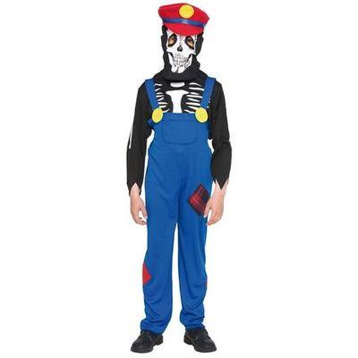 Mario kostuum kind halloween
