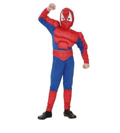 Gespierd Spiderman pak kind