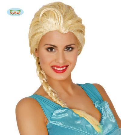 Pruik Elsa Frozen blond