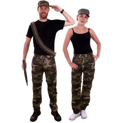 Foto van Camouflage broek
