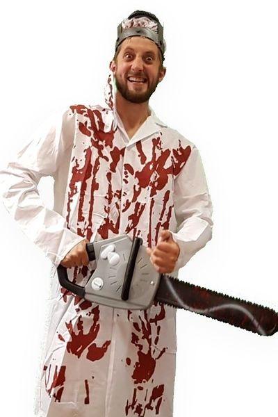 Bloederig dokter kostuum