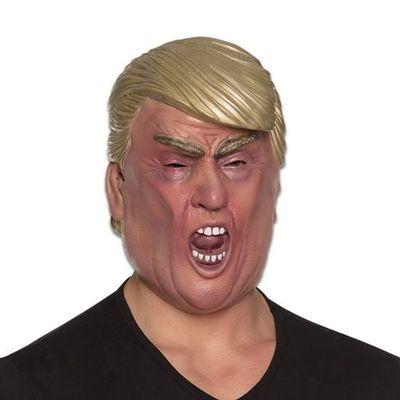 Masker Donald Trump luxe met mond