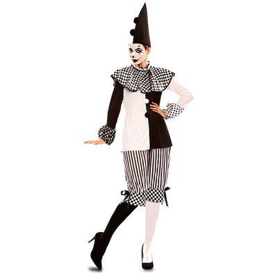 Foto van Pierrot kostuum