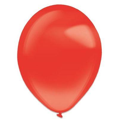 Ballonnen apple red crystal (35cm) 50st