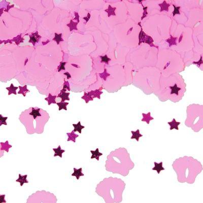 Foto van Tafel Confetti roze