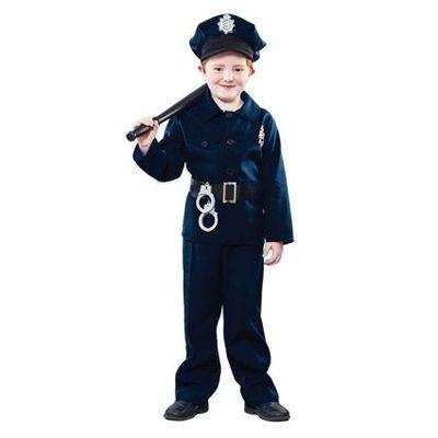 Foto van Politie pak kind jongen