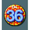 Afbeelding van Button 36 jaar