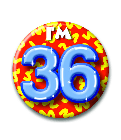Button 36 jaar