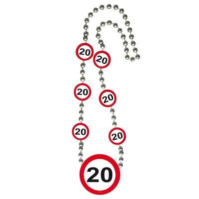 Ketting Verkeersbord 20 jaar