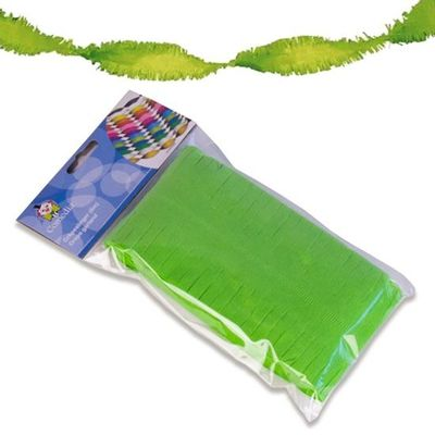 Crepe slinger groen 6 m