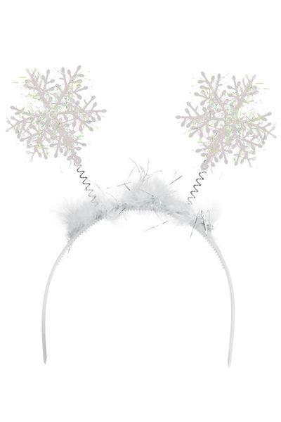 Tiara met Sneeuwvlokken