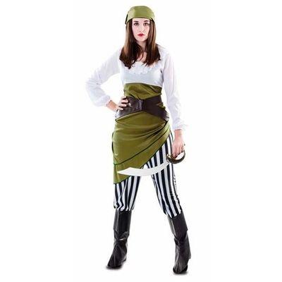 Piraten kostuum groen