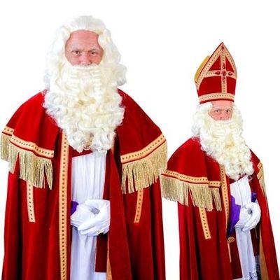 Foto van Sinterklaas baard TV-Sint kanekalon