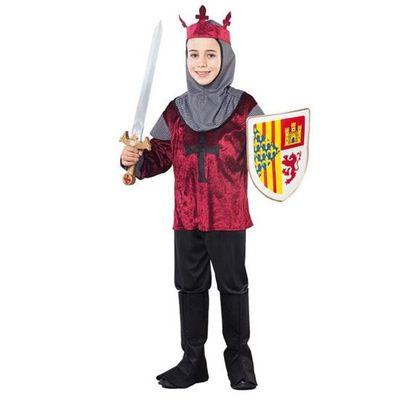 Foto van Middeleeuwse ridder pak kind