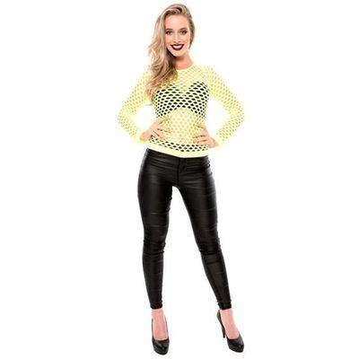 Foto van Visnet shirt neon geel