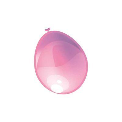 Ballonnen Metallic Roze 10st.