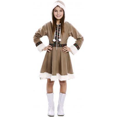 Foto van Eskimo jurkje meisje