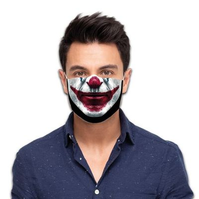 Foto van Mondkapje killer clown