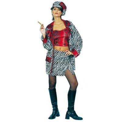 Foto van Pooier / pimp kostuum - Dames