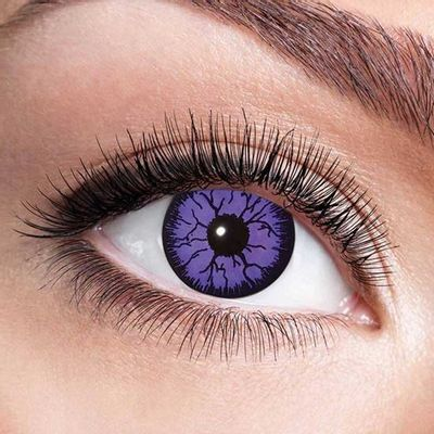 Foto van Kleurlenzen Monster violet – maandlenzen