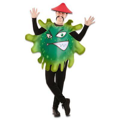 Foto van Corona virus kostuum